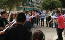 Xoriçada contra les retallades EPA Alberto Barrios. Alacant 31/03/2012